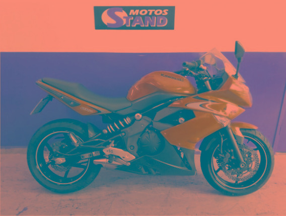 Kawasaki Ninja 650r 2010/2011 Verde