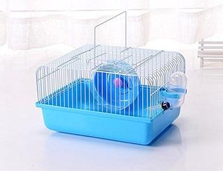 Zoez Hamster Cage Carrier Portatil Hamster Carry Case Jaula