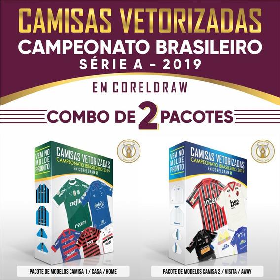 Vetores Das Camisas Do Campeonato Brasileiro 2019 Série A