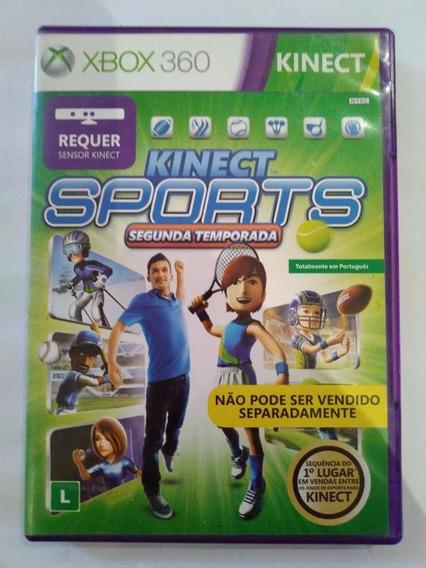 Kinect Sports 2ª Temporada - Xbox 360 - Mídia Física