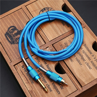 Cable Para Tatuaje Rca - Azul