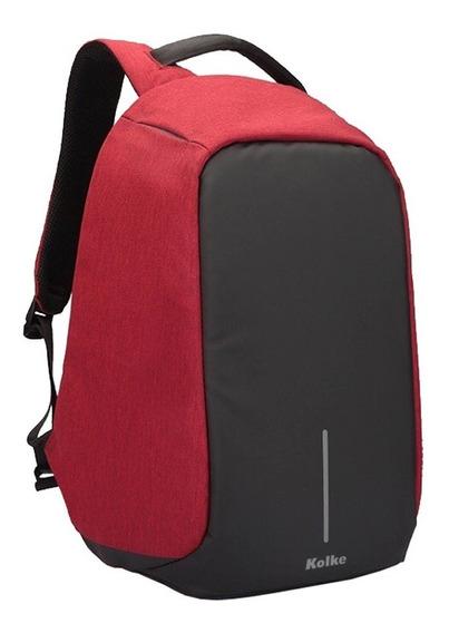 Mochila Antirrobo Kolke Kvm-245 Porta Notebook Impermeable