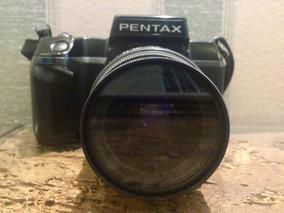 Câmera Pentax Sf7 De Filme 35mm Com Lente 28-80mm E Macro