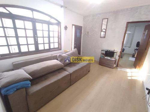 Imagem 1 de 10 de Sobrado Com 2 Dormitórios À Venda, 142 M² Por R$ 400.000,00 - Jardim Brasília - São Bernardo Do Campo/sp - So0756