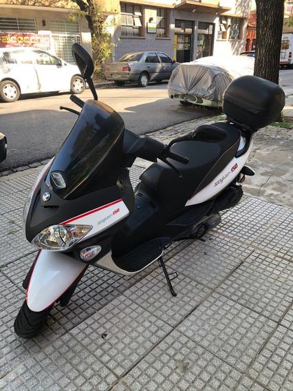 Moto Zanella Styler 150 Con Alarma Y Baúl. Casi Nueva