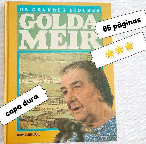 Livro Usado Os Grandes Lideres Golda Meir *** Estrelas Veja