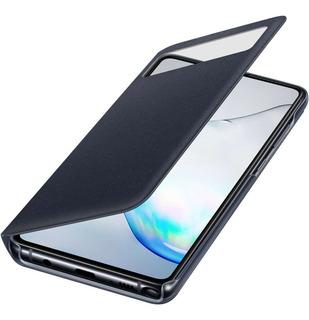 Capa S View Flip Wallet Note 10 Lite Original Samsung Preta