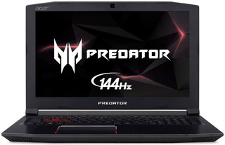 Notebook Gamer Acer Predator 144hz - I7 8750h - 1060 6g