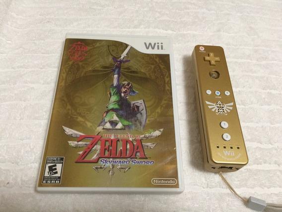 The Legend Of Zelda: Skyward Sword + Remote Plus Dourado
