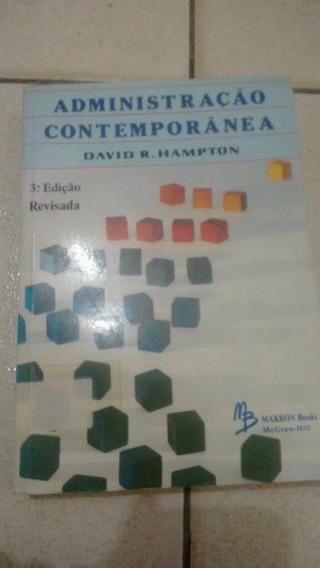 Administração Contemporânea David Hampton 3ª Edição Revista