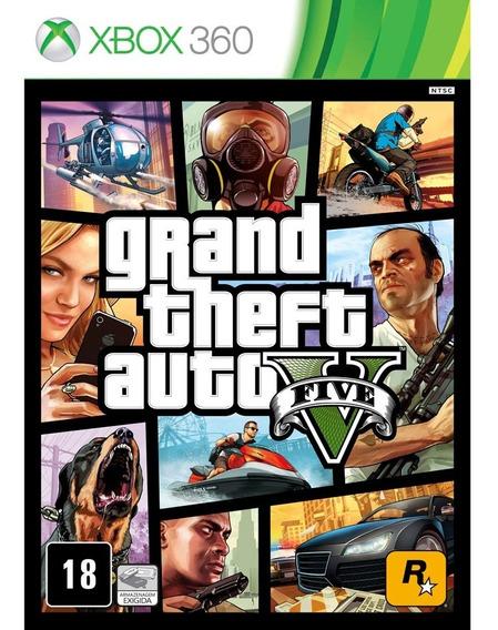 Grand Auto Thefet V Xbox 360 Midia Fisica Semi Novo