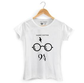 Camisa Hogwarts Harry Potter Plataforma Bruxos Varinha