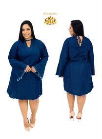 Roupas Plus Size Feminina Vestido Macacão Jardineira Barato
