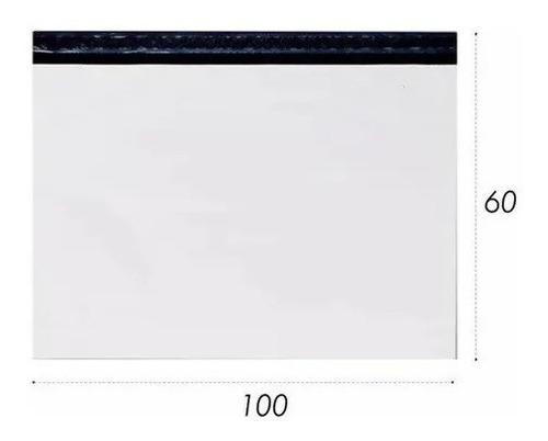 Imagem 1 de 4 de Embalagem Plástica Lacre Sedex Correio Saco 100x60 500 Un