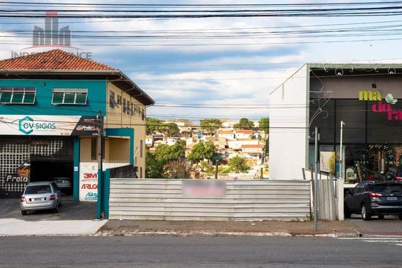Terreno À Venda, 337 M² Avenida Cidade Jardim - Jardim Satélite - São José Dos Campos/sp - Te0158