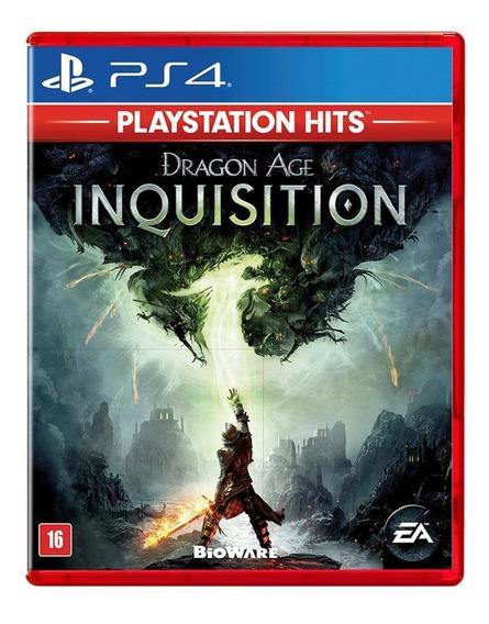 Dragon Age Inquisition (mídia Física) - Ps4 (novo, Lacrado)