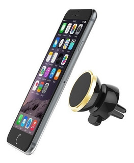Soporte Auto Toma Aire Rejilla Magnetico Iman P/ Celular