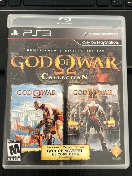 Jogo Ps3 God Of War Collection Mídia Física Envio Imediato!