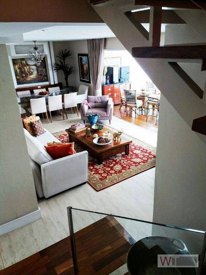 Cobertura Residencial À Venda, Brooklin, São Paulo. - Co0056