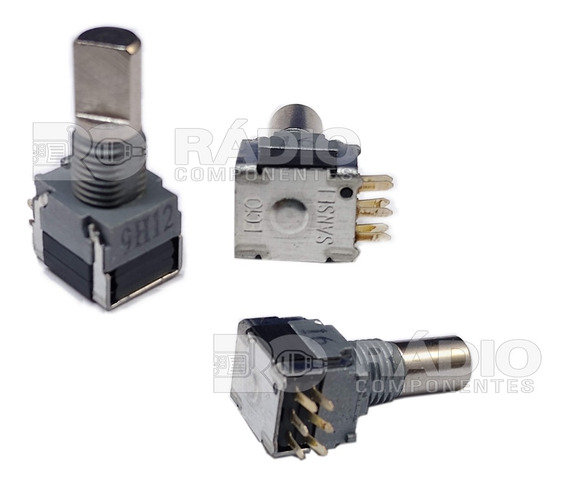 Potenciômetro De Canal Ch Vertex Vx160 Vx230 Vx231