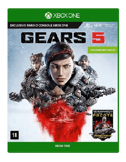 Gears Of War 5 Xbox One Mídia Física Português Exclusivo
