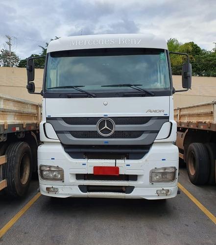 Mercedes-benz Axor 2544 6x2 Ano 2013/2013 (km Baixo)