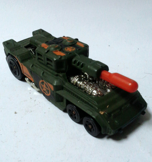 Coleccionable Juguete Hotwheels Mattel Tanque Invader