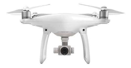 Drone DJI Phantom 4 con cámara 4K white
