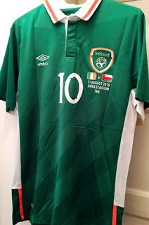 Camisa Irlanda Despedida Robbie Keane Edição Limitada