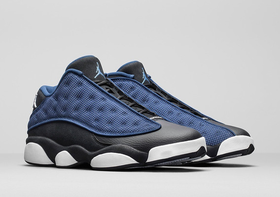 Tenis Nike Air Jordan 13 Retro Low Brave Blue