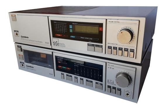 Som Gradiente,receiver E Tape Deck,radio Am/fm,colecionador