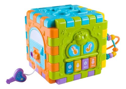 Juguete Bebe Cubo De Actividades 6 En 1 Huanger Babymovil