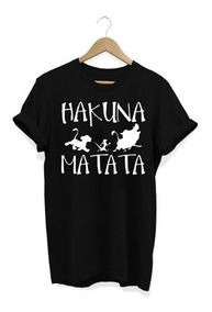 Camisa Feminina Hakuna Matata Baby Look 2019