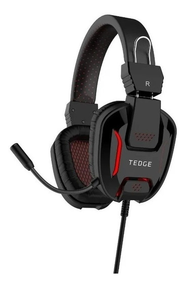 Auriculares gamer Tedge negro