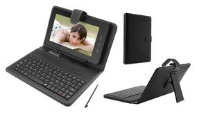 Capa Tablet Case Com Teclado Para Tablet De 7