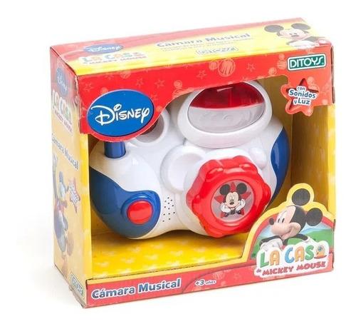 Imagen 1 de 4 de Camara De Fotos Musical Mickey (6265)