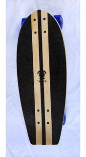 Skate Mini Longboard Completo