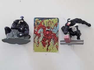 Figuras Marvel Lote Venom Spyderman Pepsicards Marvel