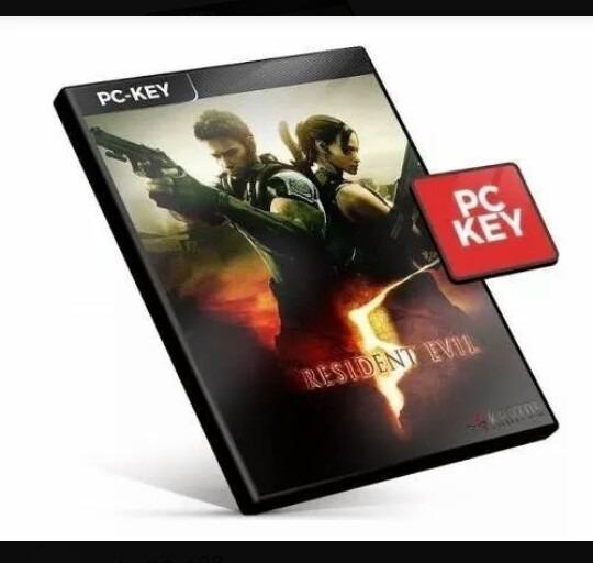 Resident Evil 5 Re5 Pc Steam Key Código 15 Dígitos Envio Já