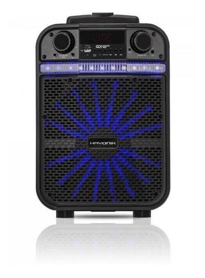 Caixa Multiuso Portátil Bluetooth/microsd/usb/fm 80w