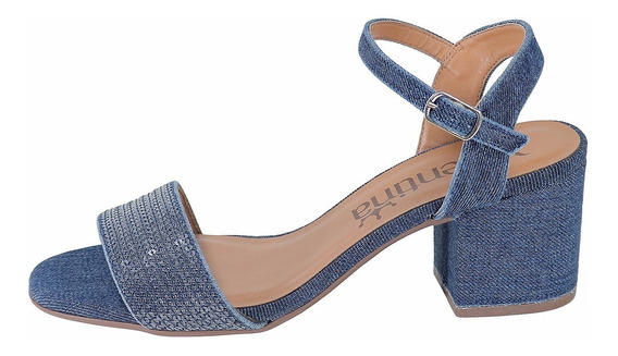 Sandalia Feminina Jeans Valentina