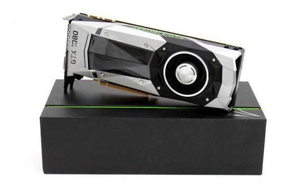 Placa De Video Nvidia 1080 Founders Edition, A Melhor.