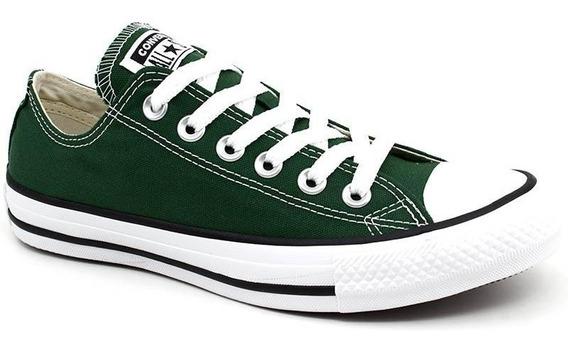 Tênis All Star Converse Original Ct0420 Verde Loja Pixolé