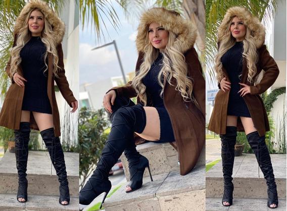 Hermoso Saco De Vestir Con Gorro Desmontable Importacion Eua