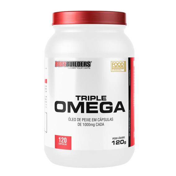 Óleo De Peixe Triple Omega 120 Cápsulas