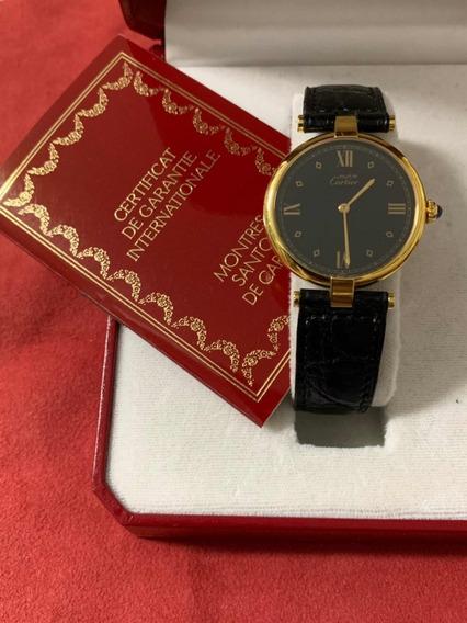 Relógio Cartier Paris Vermeil Argent 925