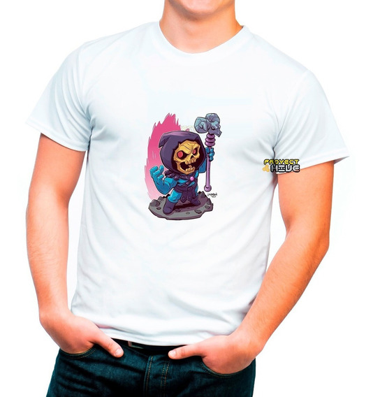 Playera Skeletor He-man Comics