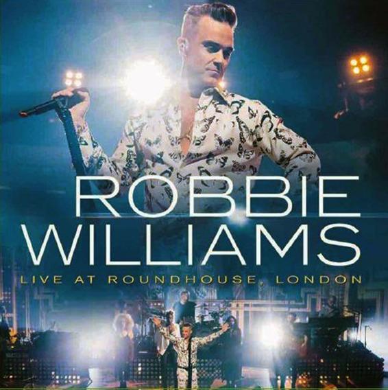Vinilo Robbie Williams Live At Roundhouse London Lp