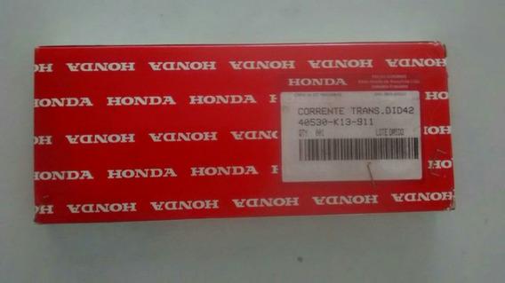 Corrente Transmissão Nxr125-original Honda-2012 À 2015
