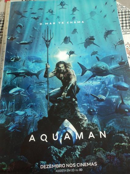 Poster:cartaz:dc:aquaman:cinema:93cm X 64cm